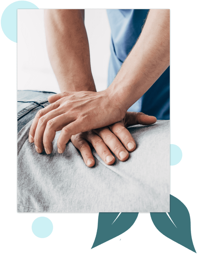 Summit Chiropractic Chiropractor Adjusting Patient